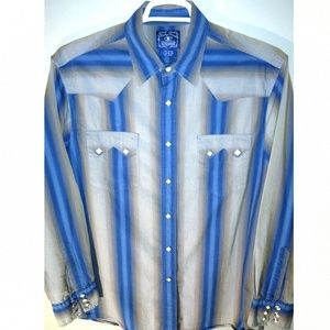 Lucky Brand Men's Large western style shirt
